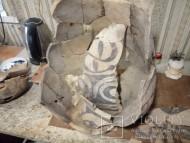 Кувшин Тишинецкой культуры под реставрацию