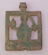 Икона прорезная Святой Николай Чудотворец Можайский, 18 век