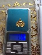 Сверхтонкая золотая лунница. Черняховская культура