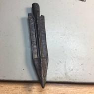 Подписной древний наконечник стрелы