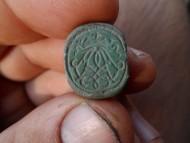 Трёхсторонняя шляхетская печать. Три герба
