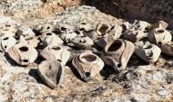 48 масляных ламп древне римского периода были раскопаны