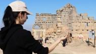 Древняя масляная лампа - находка турецких археологов