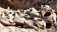 Древние масляные лампы, находка турецких археологов