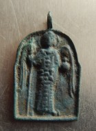 Арочная икона: АРХАНГЕЛ МИХАИЛ.  Датировка: 12 - 13 век