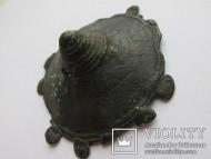 Крупная сбруйная накладка Чернолесской культуры IX-VII век до н. э.