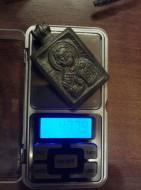 Нательная иконка Святой Николай Чудотворец, конец XIII-XIV вв.