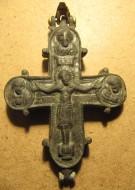 Рельефный энколпион Купятицкая Богородица, XII в.