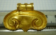 Большая золотая Лунница Черняховской культуры