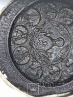 Панагия 16-17 век, серебро позолота дерево