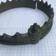 Кельтская коронообразная гривна