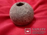 Булава каменная круглая