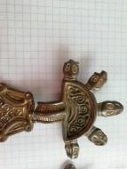 Древнеславянская пятиглавая фибула