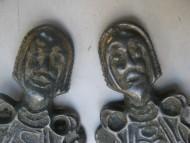 Антропозооморфные семипалые фибулы. 6 век. ПК