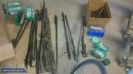 Полиция Польши нашла у торговцев оружием средневековые предметы