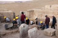 раскопки в Зерзеванском замке