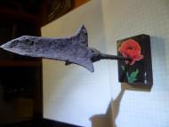 Трёхлопасной кунжутолистый наконечник стрелы со свистком. Золотая Орда, первая половина 14 века