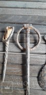 Однозубые вилки и ложка