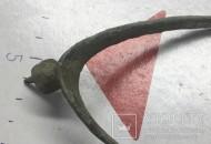 Средневековая шпора с шипом