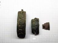 Часть браслета со спиральным орнаментом. Чернолесская культура