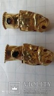 Античные золотые львы от разомкнутого браслета