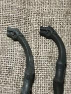 Скифские украшения конской узды в зверином стиле