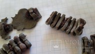 Бронзовый сегментный браслет