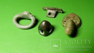 Набор бронзовых предметов