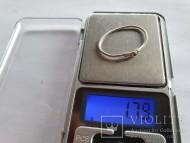 Cеребряное височное кольцо