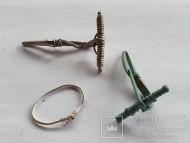 Фибулы и височное кольцо