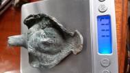 Горгона ухо-накладка на котел или другую посуду. Рим