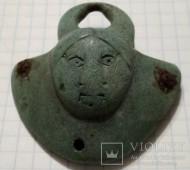 Ухо от котла в виде лица. Черняховская культура