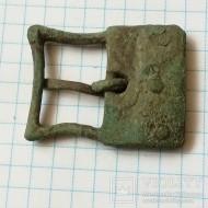 Большая бронзовая пряжка. Черняховская культура