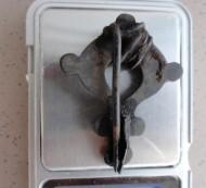 Фибула с эмалями. Древний Рим. 2-3 ст., ремонт иглы на местный вкус