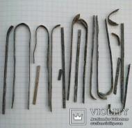 Серебряные палочки Пеньковской культуры