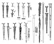 Сарматские мечи и кинжалы