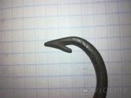 Рыболовный бронзовый крючок ЧК или КР