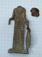 Античная свинцовая статуэтка (Ольвия)