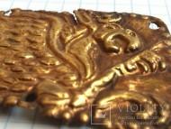 Большая золотая бляшка Скифы