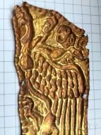 Большая золотая бляха Скифы