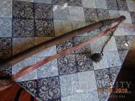 Кистень с цепью и шипами