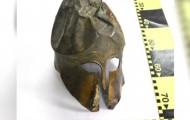 в Румынии изъяли древнегреческий шлем коринфского типа