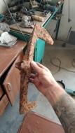 Византийский двулезвийный плотницкий топор