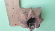 Булава железная с пирамидальными шипами