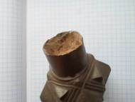 Булава бронзовая тяжелая с крышкой