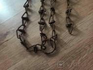 Старинная цепь одно кольцо и два подвеса
