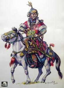 Хан Батый, худ. М. Горелик