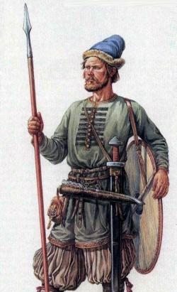 воин рус 10 век