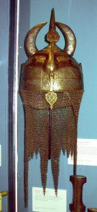 персидский шлем