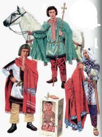 костюми Візантії
